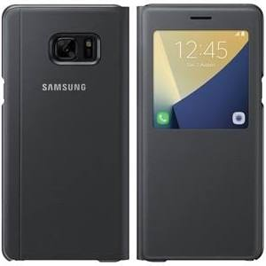 Samsung - S View Cover for the Samsung Galaxy Note7 Black