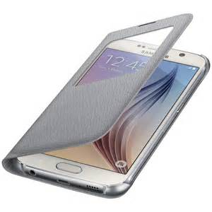 Samsung - S View Cover for the Samsung Galaxy Note7 Silver