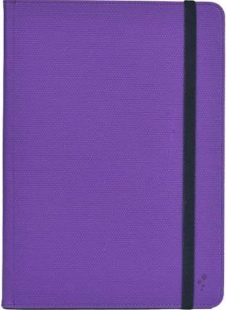 M-Edge - Universal Folio Plus XL Devices Purple with Strap