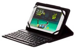 M-Edge - Universal Folio Plus Pro w/Keyboard for Small Devices in Black