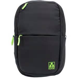 M-Edge - Tech Pack with 6000 mAh Built-In Battery Backup (Black/Lime)