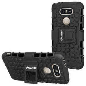 Premium Hybrid Warrior w/KickStand Case - Black/ Black