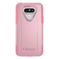 OtterBox COMMUTER Rugged Slim Case For LG G5(No Belt Clip)(Bubblegum Way)