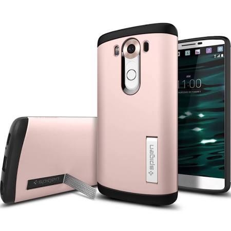 Spigen, Inc. - Slim Armor Case for LG V10 in Rose Gold