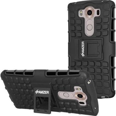 Premium Hybrid Warrior Case - Black/ Black for LG V10
