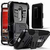 Premium Duo Armor Combo Case w/Stand and Belt Clip for LG V10 (BLACK