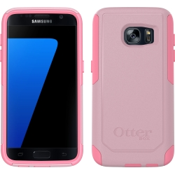 OtterBox COMMUTER Case Samsung Galaxy S7 in Bubblegum Way (No Belt Clip)