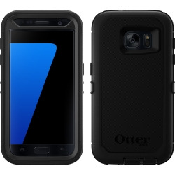 OtterBox DEFENDER Case w/Belt Clip For Samsung Galaxy S7 Black