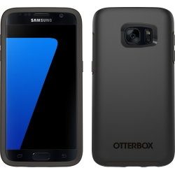 OtterBox SYMMETRY Case Samsung Galaxy S7 in Black (No Belt Clip)