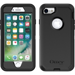 OtterBox DEFENDER Case w/Belt Clip For Apple iPhone 7/8/SE In Black