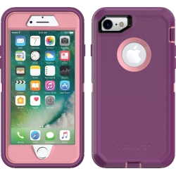 OtterBox DEFENDER Case w/Belt Clip For Apple iPhone 7/8 In Vinyasa