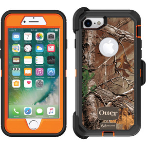 OtterBox DEFENDER Case w/Graphics & Belt Clip For iPhone 7/8 in Realtree Camo