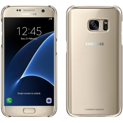 Samsung Clear Protective Cover for Samsung Galaxy S7 Gold