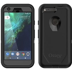 OtterBox DEFENDER Case w/Belt Clip for Google Pixel in Black