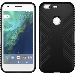 Speck Presidio Grip for Google Pixel in Black/Black