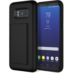 Incipio Technologies STOWAWAY WALLET Case for Samsung Galaxy S8 in Black