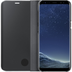 Samsung S-View Clear Flip Cover Samsung Galaxy S8 in Black