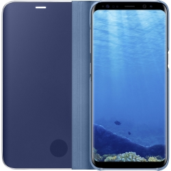 Samsung S-View Clear Flip Cover Samsung Galaxy S8 in Blue