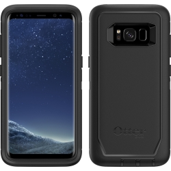 OtterBox DEFENDER Case w/Belt Clip For Samsung Galaxy S8 Black