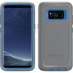 OtterBox DEFENDER Case w/Belt Clip For Samsung Galaxy S8 Marathoner Blue