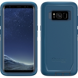 OtterBox DEFENDER Case w/Belt Clip For Samsung Galaxy S8 Bespoke Way Blue