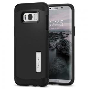 Spigen, Inc. - Slim Armor Case Samsung Galaxy S8 in Black