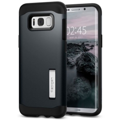 Spigen, Inc. - Slim Armor CaseSamsung Galaxy S8 in Metal Slate