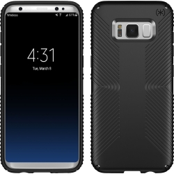 Speck - Presidio Grip for Samsung Galaxy S8 in Black/Black