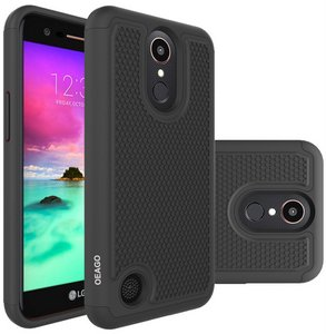 OEAGO Hybrid Dual Layer Defender Protective Case Cover