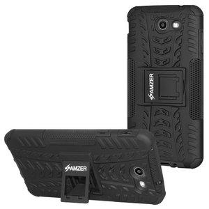 Premium Hybrid Warrior Case - Black/ Black (J7-2017)