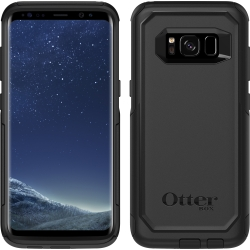 OtterBox COMMUTER Case For Samsung Galaxy S8 in Black