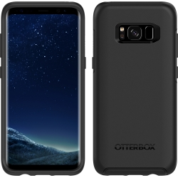 OtterBox SYMMETRY Case for Samsung Galaxy S8 in Black