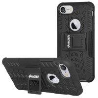 Premium Hybrid Warrior Case (iPhone6/7/8/) Black/ Black