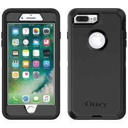 OtterBox DEFENDER Case for Apple iPhone 7/8Plus w/Clip (Black/Black)