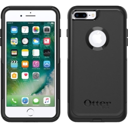 OtterBox COMMUTER Rugged Slim Case For Apple iPhone 7/8PLus (No Belt Clip)(Black)