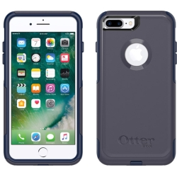 OtterBox COMMUTER Rugged Slim Case For Apple iPhone 7/8PLus (No Belt Clip)(Indigo Way Blue)