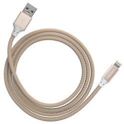 Ventev 8-Pin Lightning to USB Charging/Sync (4-Foot) Cable, Gold
