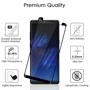 Premium Ultra FITTED CURVED EDGELESS TEMPLERED GLASS Screen Protector