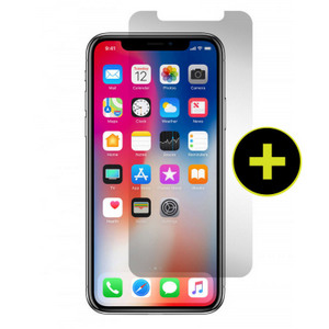 Gadget Guard- Apple Iphone X Black Ice Edition Tempered Glass Screen Protector