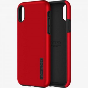 Incipio Technologies - DualPro Apple iPhone X/XS Red & Black