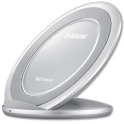 Samsung - Fast Charge Wireless Charging Stand in Silver