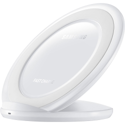 Samsung - Fast Charge Wireless Charging Stand in White
