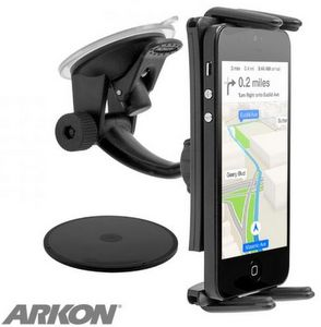 Arkon Slim-Grip Ultra Windshield & Dash Phone Car Mount For Smart Phones & Small Tablets