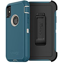 OtterBox DEFENDER Case w/Belt Clip For Apple iPhone X Big Sur