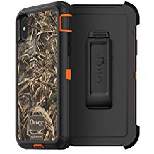 OtterBox DEFENDER Case w/Belt Clip For Apple iPhone X RealTree Max 5HD