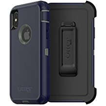 OtterBox DEFENDER Case Apple w/Belt Clip For iPhone X Stormy Peaks
