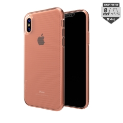 Skech - Matrix Clear Case For Apple iPhone X in Rose Gold