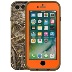 LifeProof - fre Case iPhone 8/7 in Max 5 Orange/Black (No Belt Clip)