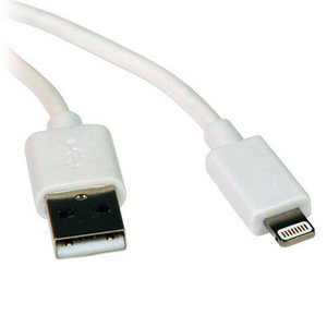 Griffin 8-Pin Lightning to USB Charging/Sync (10-Foot) Cable, White