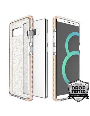 Prodigee Super Star Case for Samsung Galaxy Note8 - Gold